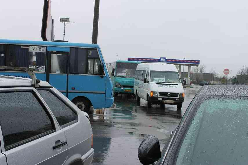 Пассажиры междугородних автобусов искали  павлоградского идиота на   городской автостанции
