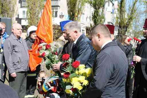 В Павлограде почтили память героев-чернобыльцев