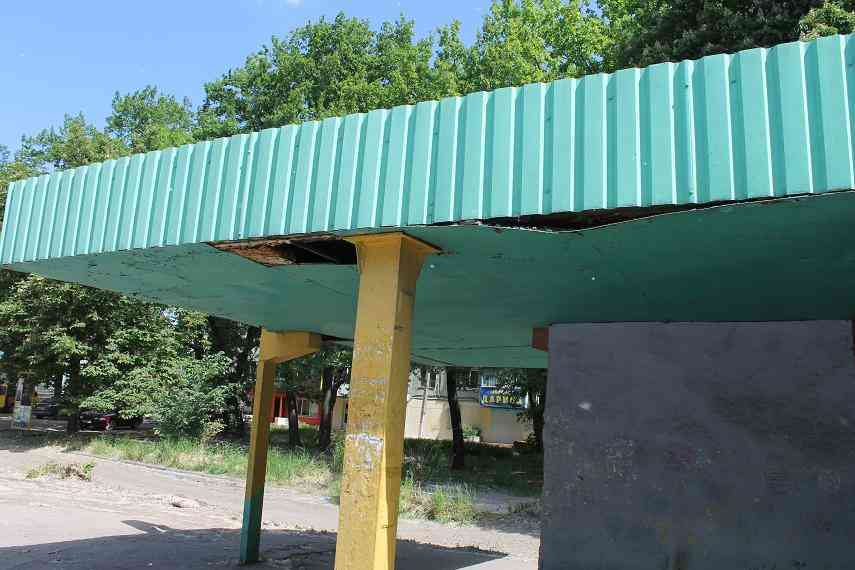 Автобусные остановки Павлограда  становятся опасными для жизни