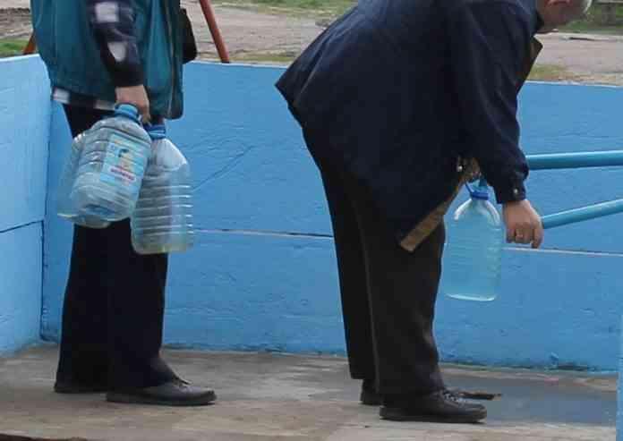 В результате аварии несколько поселков в Павлограде остались без воды