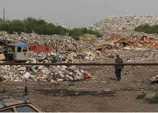 Чтобы народ ужаснулся: по мусорной свалке, под Павлоградом, скоро будут водить экскурсии
