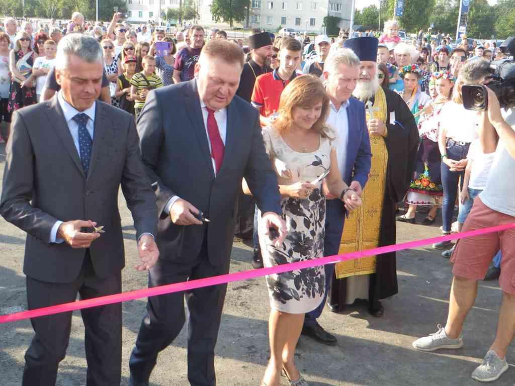 Ко Дню города ДТЭК подарил жителям Терновки центральную площадь