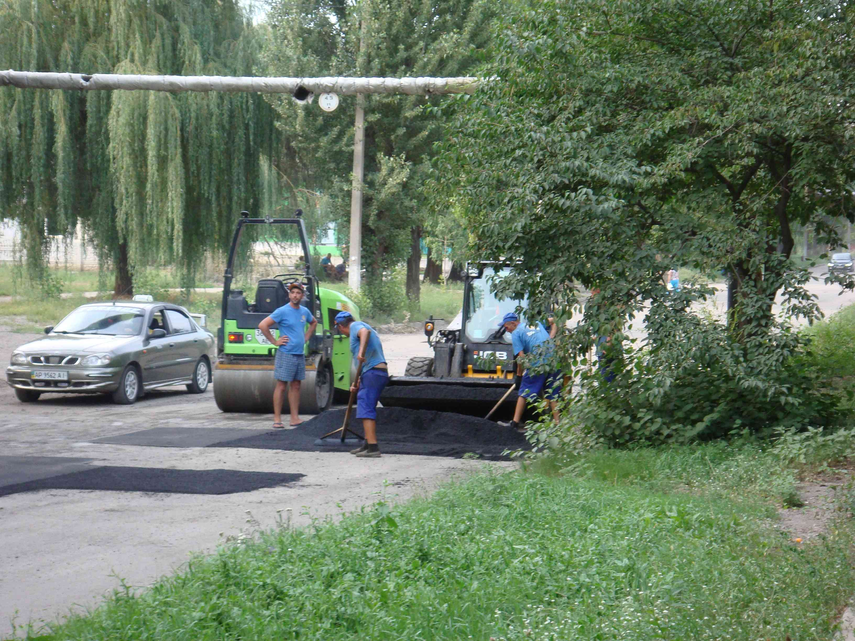 """В Павлограде """"залатали"""" Западнодонбасскую"""
