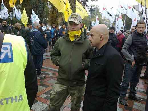Михаил Саакашвили: « В Украине больше нет политического процесса, - есть политический разводняк »