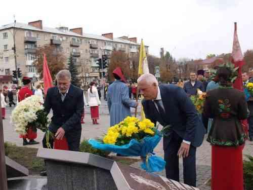 В Павлограді відбулись урочистості з нагоди Дня захисника України