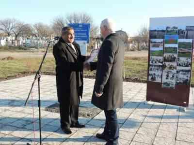 Благодаря конкурсу «Громада своими руками» в Павлограде появился сквер цыганской общины и спортплощадка