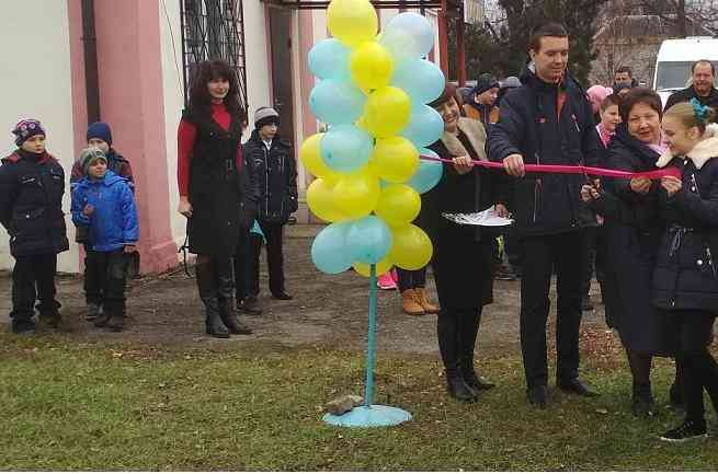 В селе Вязовок открылся стадион для будущих олимпийцев