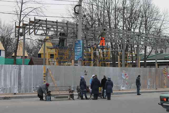 На реконструкцию башен и новые горки в Детском парке Павлоград потратит 3,5 млн гривен