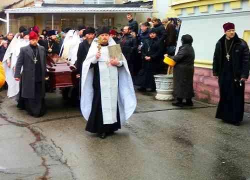 Павлоград простился с отцом Валентином