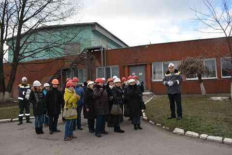 В Терновке стартовал партнерский проект «Школа – шахта. От профориентации к профессионализму»