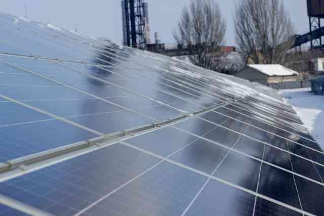 Согреет солнце: канадцы построили в Днепропетровской области солнечную электростанцию