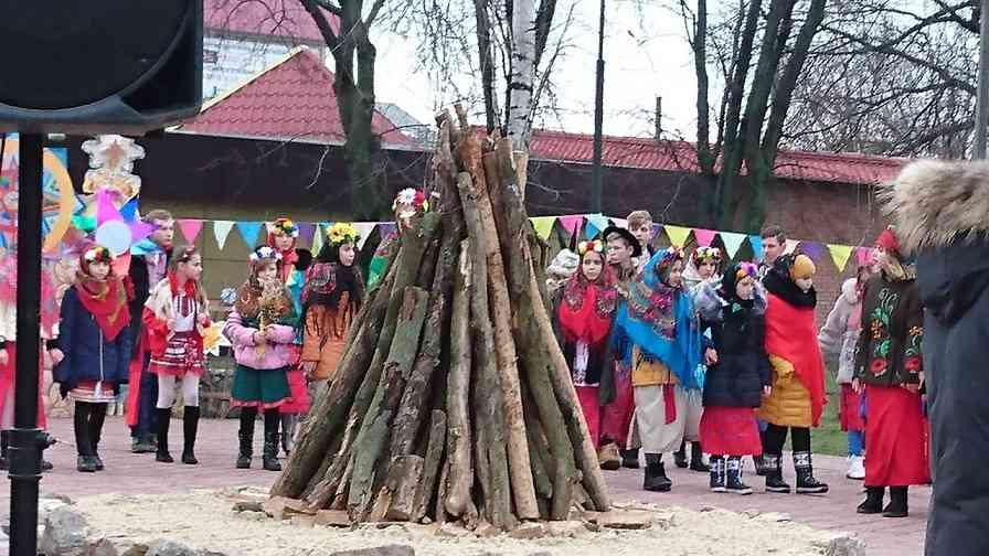 В Павлограде зажгли костер Мира, Счастья, Добра, Единства и Любви