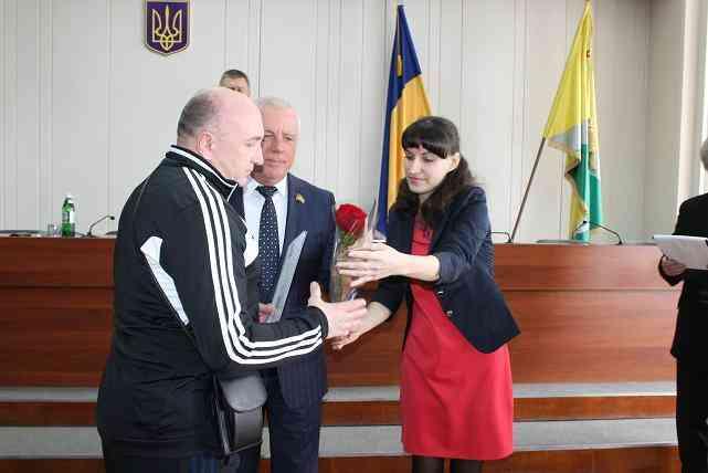 Первых защитников Украины поздравили с Днем добровольца в Павлограде