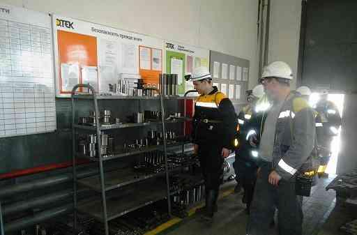 Международные эксперты оценили работу шахтоуправления им. Героев космоса