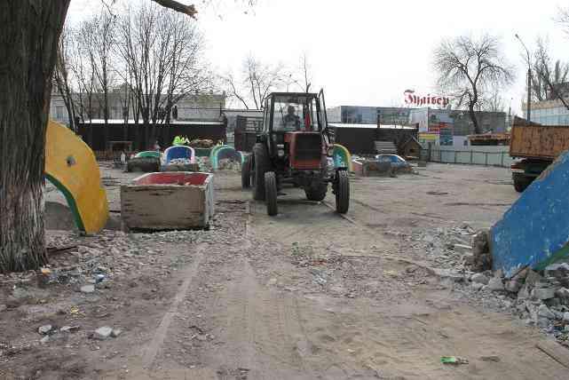 Трудно представить, какие чудеса появятся в Детском сквере Павлограда  за 3,3 млн гривен