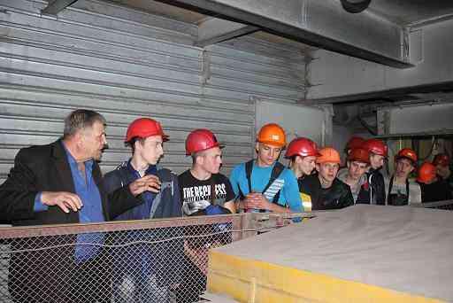 В Першотравенском шахтоуправлении студенты начинают с безопасности