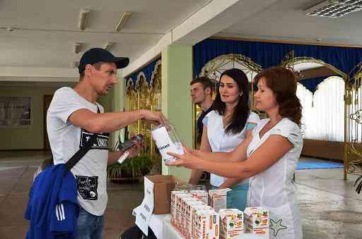 Шахтеры Днепровского выбирают здоровье: витамины вместо сигарет