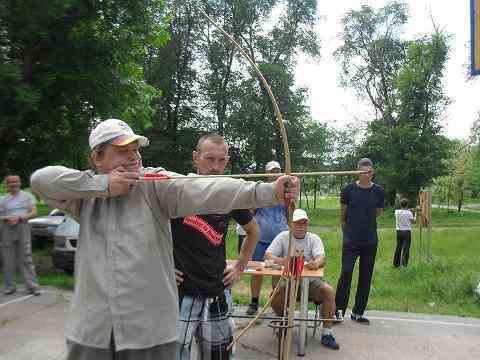 Павлоградцы состязались в меткости