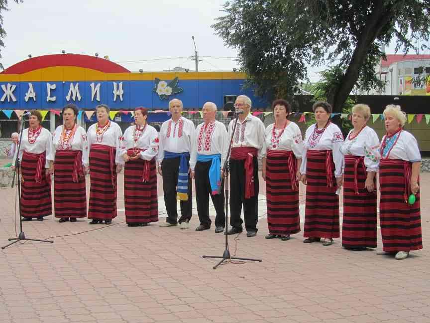 Павлоград отметил День Конституции украинскими песнями