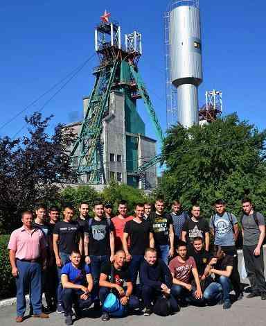 Днепровские студенты помогли горнякам в запуске новой лавы