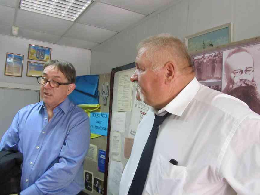 Представители шахтерских профсоюзов Великобритании пройдут по Павлограду в вышиванках