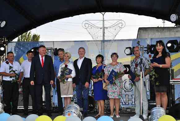 В колыбели Западного Донбасса прошли торжества