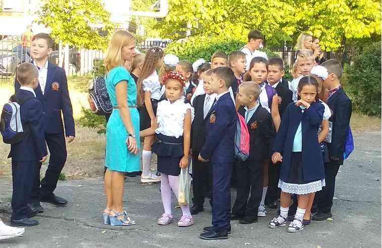 Выпускники 2030 года, в Павлограде,  к занятиям приступили