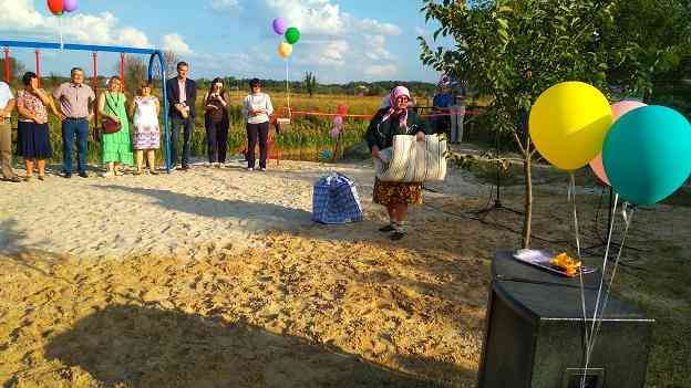Победители конкурса «Громада своими руками» , под Малоалександровкой, открыли замечательный пляж