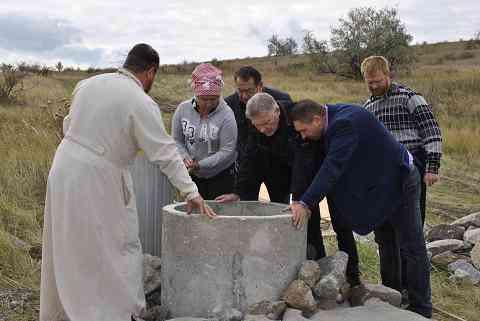 Митрополит Ириней освятит целебный источник в Павлоградском районе