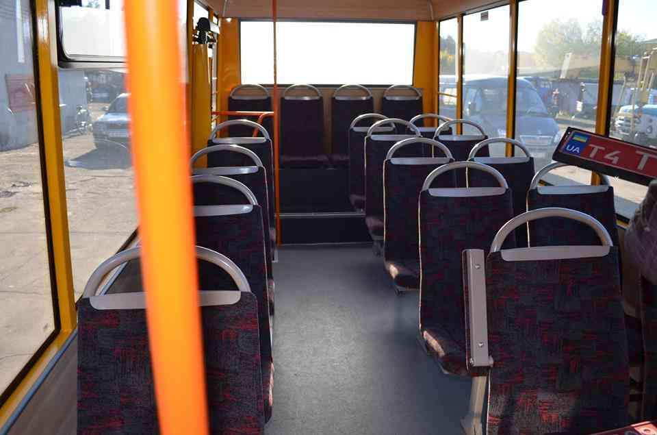 В Терновке появился первый муниципальный автобус  за 400  тыс. гривен