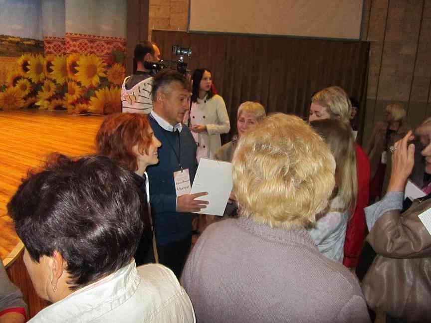 На Форуме в Павлограде: Мы вместе меняем жизнь города к лучшему