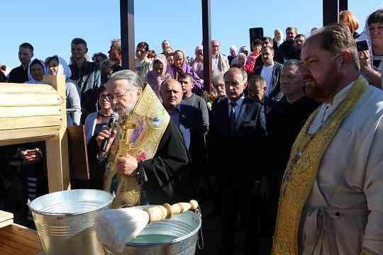 На Павлоградщине торжественно освятили возрожденный источник чистой воды