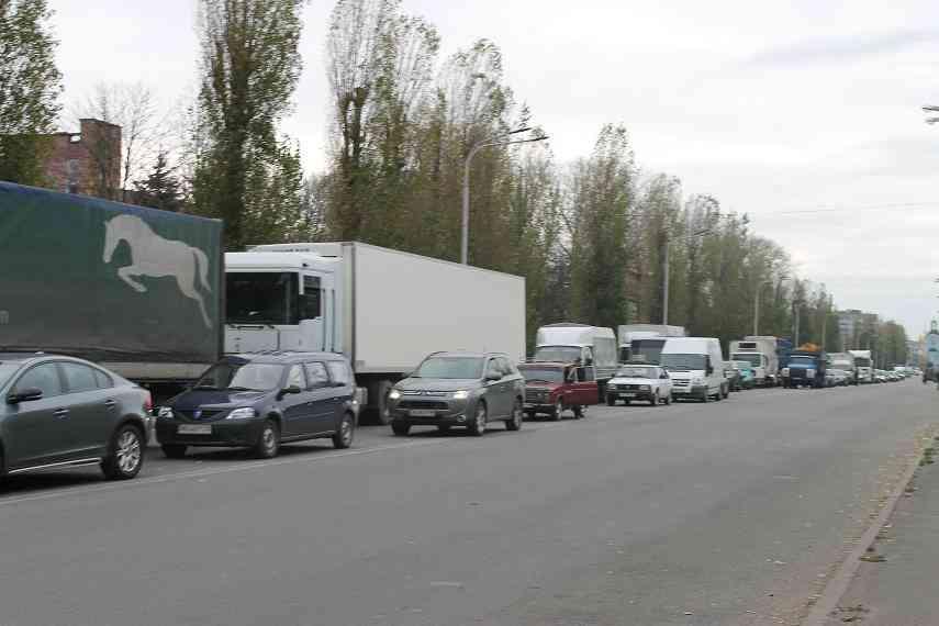 Павлоградцы перекрыли трассу международного значения из-за отсутствия газа в двух многоквартирных домах