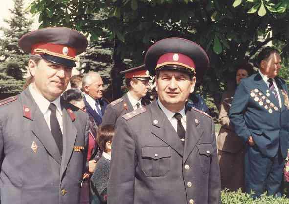 Николай Пономарчук: Коллегам ветеранам МВД посвящается