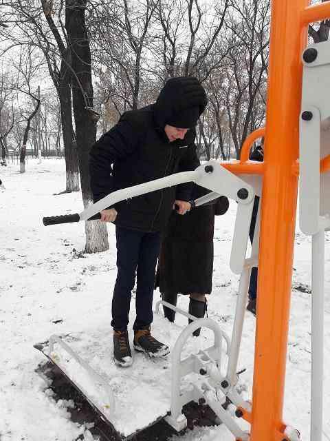В Богдановке открыли «Площадку мечты»