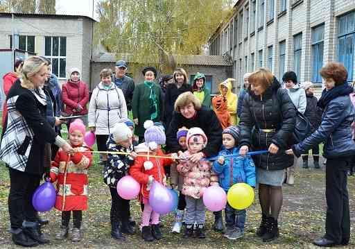 Мечты сбываются: в Николаевской ОТГ появились две площадки и зона отдыха у реки
