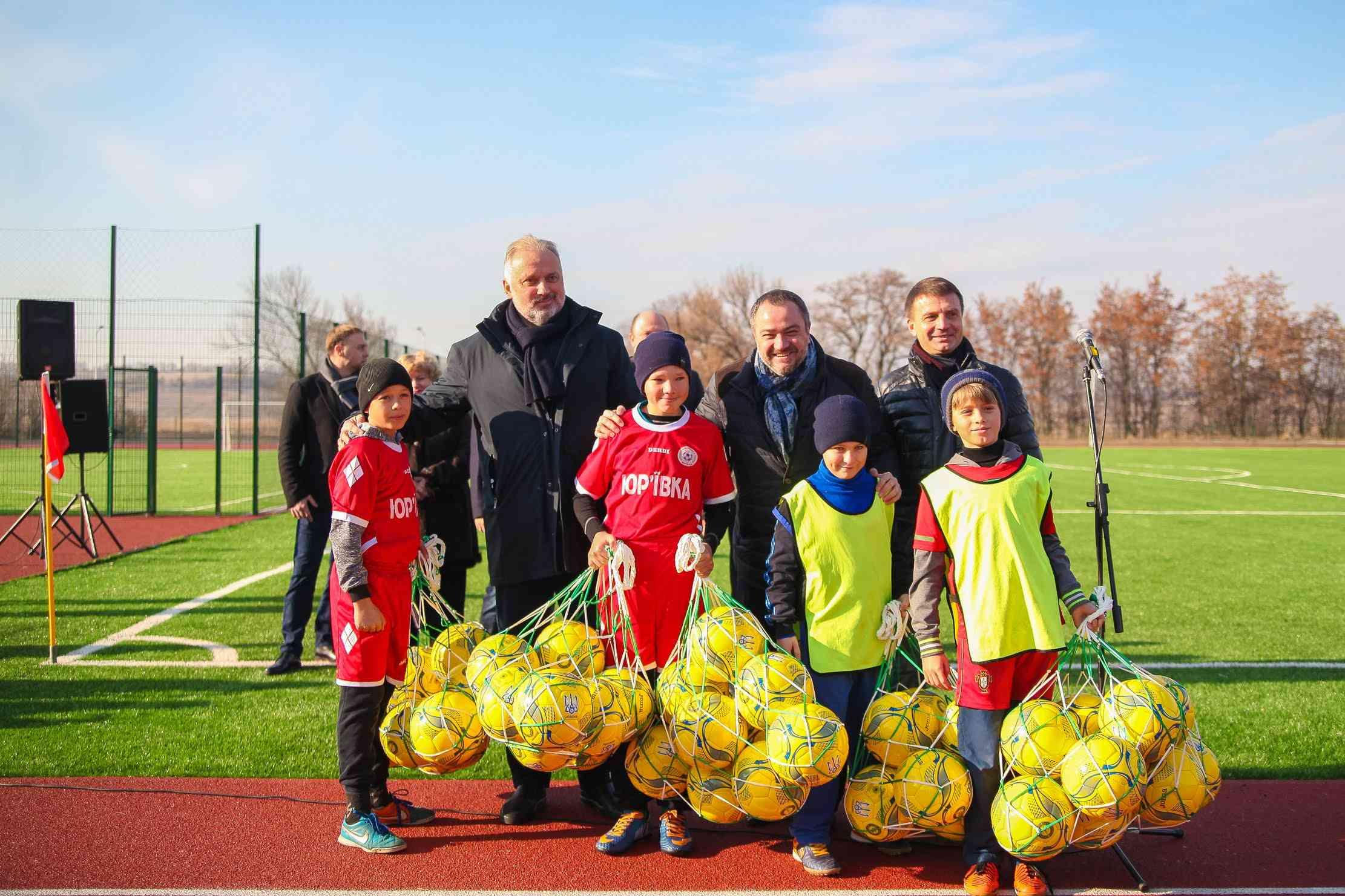 Сучасний стадіон відкрили в центрі Юр'ївської об'єднаної громади – Валентин Резніченко