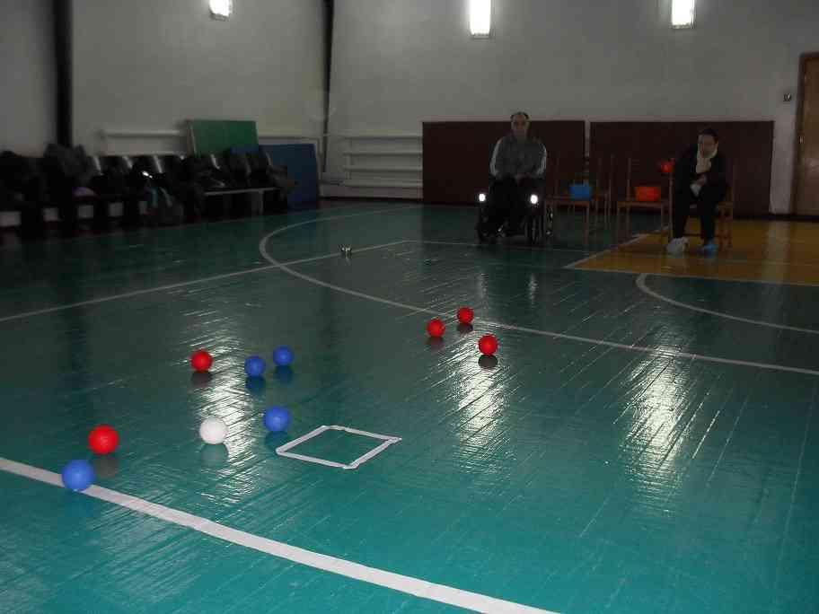В Павлограде прошел Чемпионат среди людей с инвалидностью по бочче