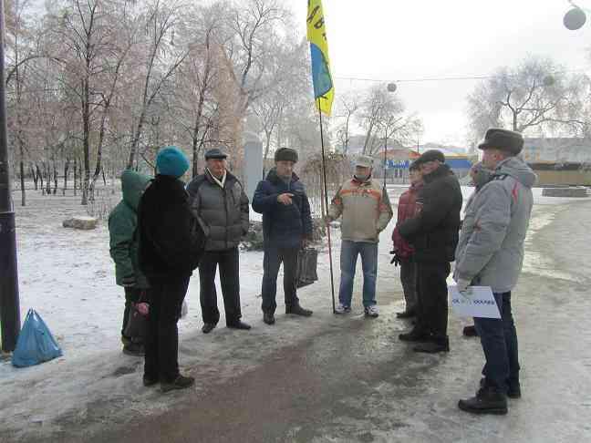 Позор Майдана: в Павлограде активистов обматерили за неумение добиваться победы
