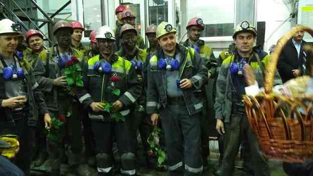 Горняки передового участка шахтоуправления им. Героев космоса, накануне Нового года,  добыли миллионную тонну угля