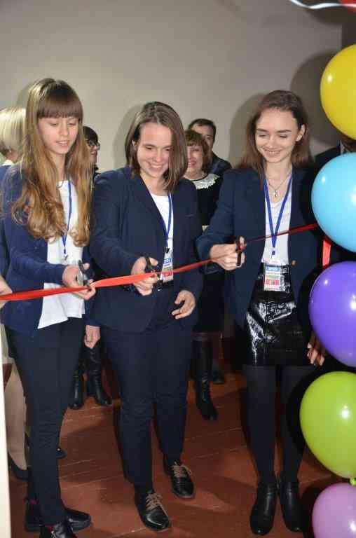 В Павлограде открыли первую детскую телестудию