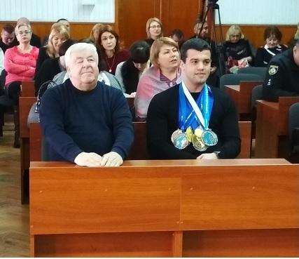 Павлоград отметил денежными премиями своих выдающихся спортсменов