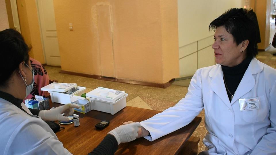 200 павлоградців дізнались про свій рівень цукру в крові