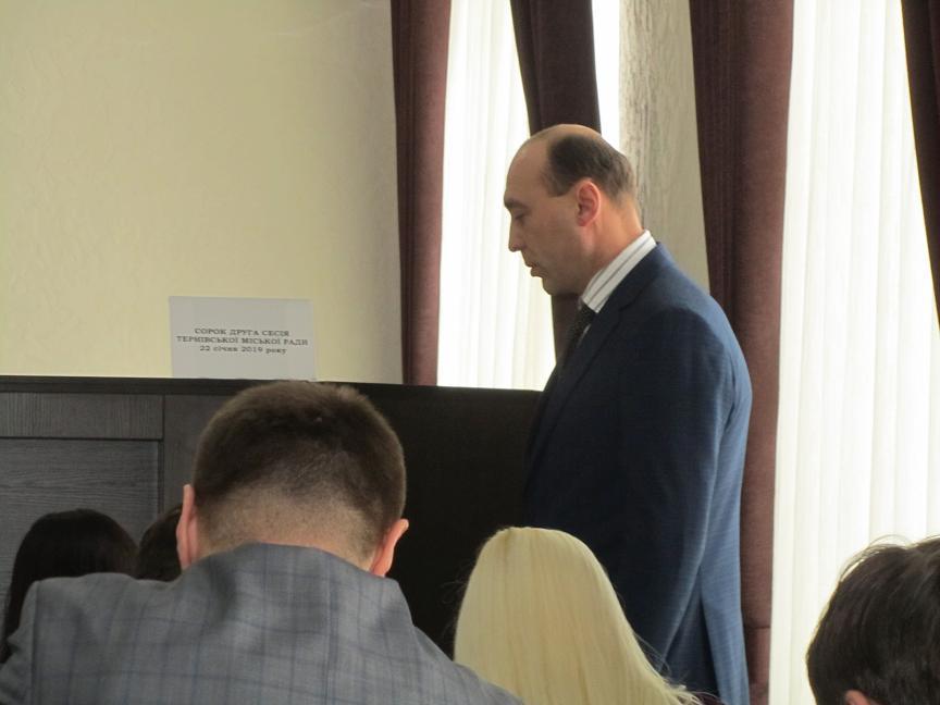 Полиция установит по чьей вине кандидату Оппозиционного блока не позволили войти в состав Терновского городского совета