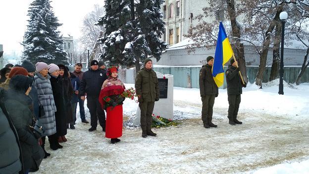Павлоград торжественно помолчал о погибших за Украину
