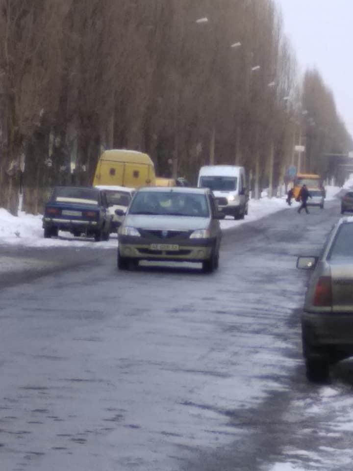 Улица Западнодонбасская, в Павлограде, погружается в хаос