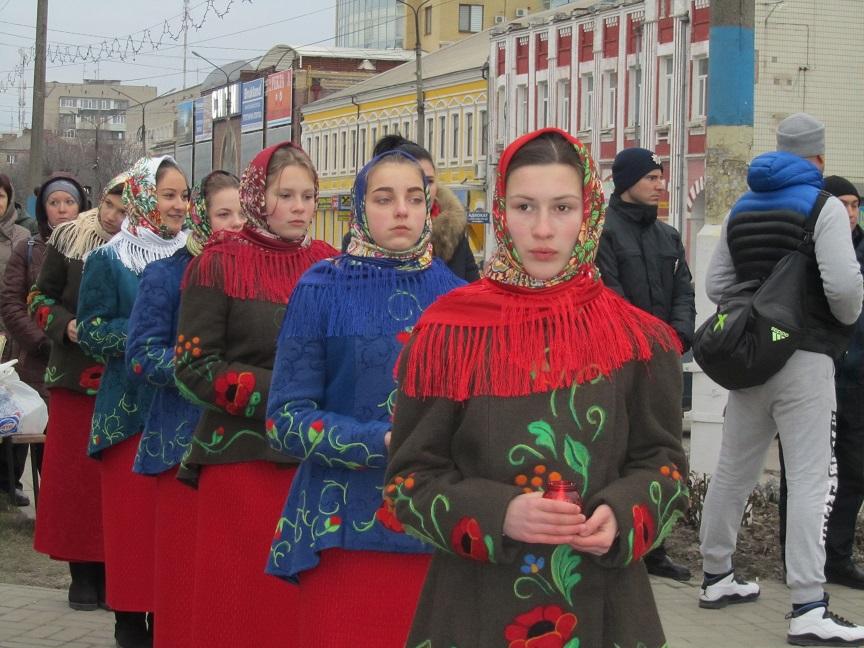 Гимн Украины помог павлоградцам помянуть Небесную сотню