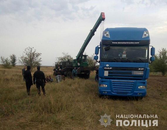 Преступная группа вырезала более 500 м. труб оросительной системы и попала в руки полиции