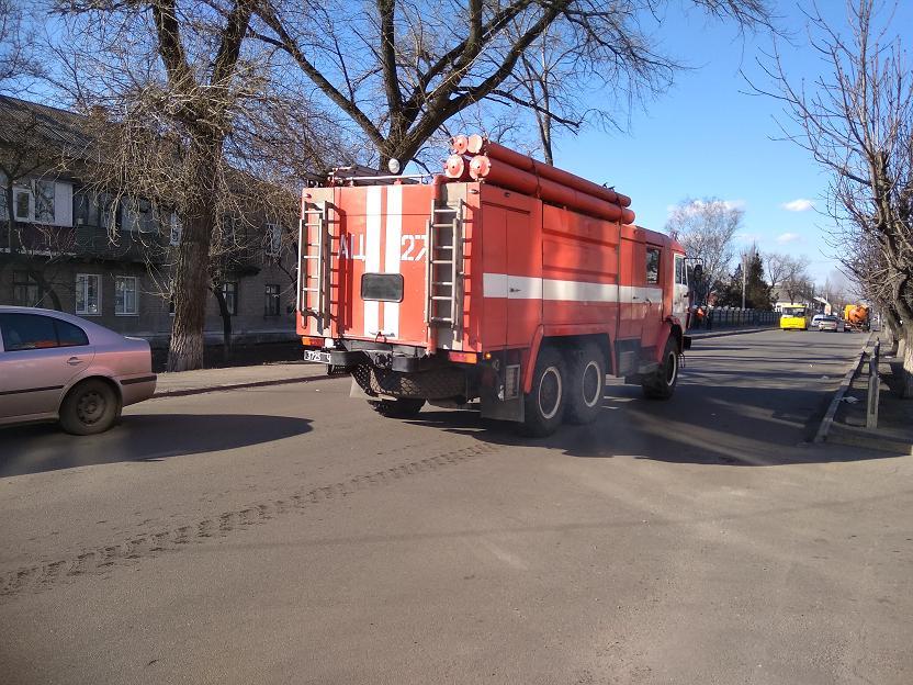 Сегодня на Павлоградщине спасатели пять раз выезжали тушить горящую траву