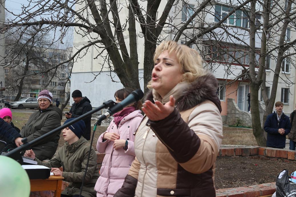 На Химзаводе в Павлограде весну встречали по-особенному